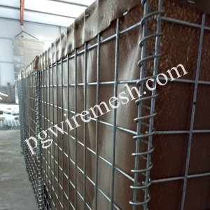 Galfan Coated Hesco Barrier China Manufacturer