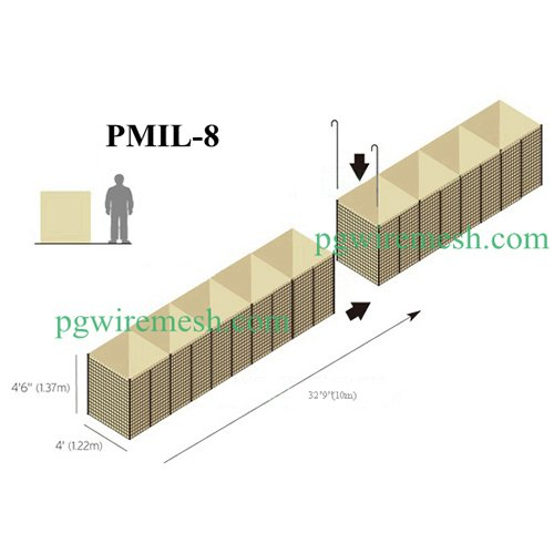 Bastion Barrier PMIL 8