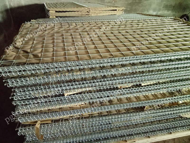 Military Barrier Welded Hesco Barrier Gabion Box is the Securest Barricade for Blast Mitigation