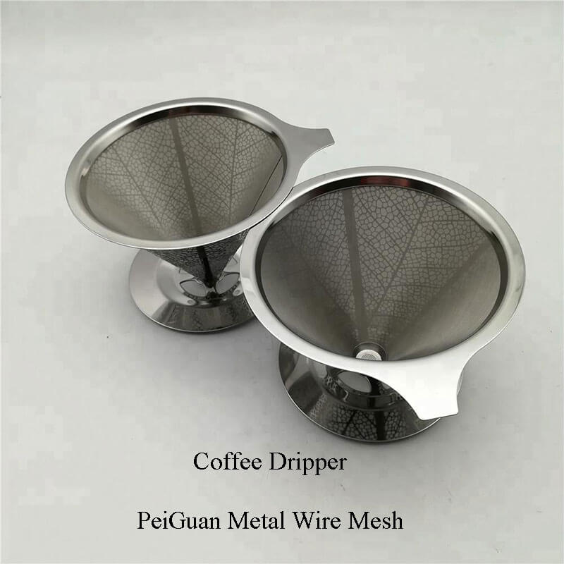 Stainless Steel Pourover Coffee Dripper China Manufacturer