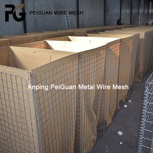 Galvanized Military Sand Wall Welded Hesco Barrier Bastion Prices