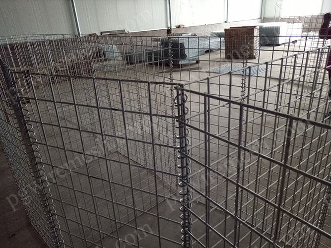 China welded gabion boxes for building retaining wall and landscape gabion wall