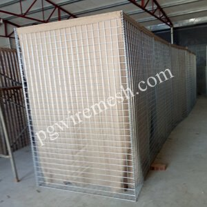 Hesco barrier bastions for Turkey military fortification(China supplier)