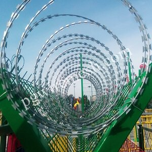 Razor Wire Fence & Bastion Barrier Security Fence China Manufacturer