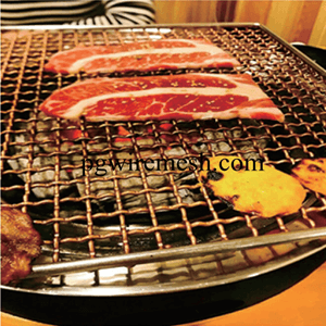 Stainless Barbecue Grill Netting made from China