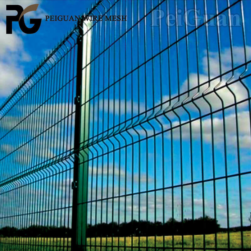 Delvery Fast high security 3D panel Fence for sale