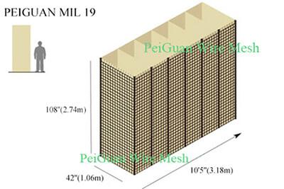 Hesco Bastion Barrier MIL 19